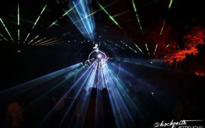 Highlight für Ihre Hochzeitsfeier: Lasershow
