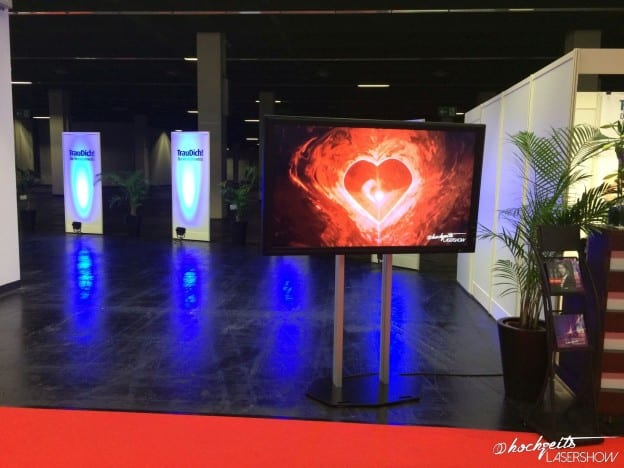 Hochzeit, Lasershow & TrauDich! Köln