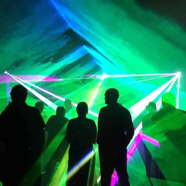 Lasershow 3D Lichtermeer