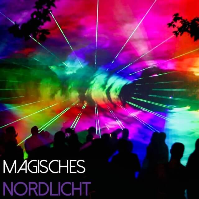 Lasershow magischer Moment