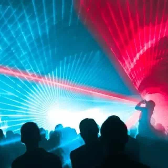 Lasershow zur Hochzeit mit Multi-Laser