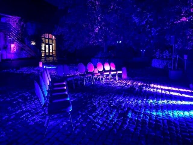 Lasershow mit Mystic Lights zur Hochzeitsfeier