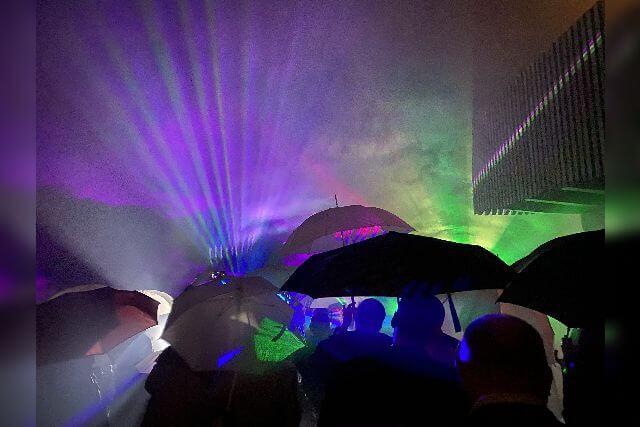 Lasershow zur Hochzeit für Kathi und Jonas